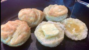 Homemade Buttermilk Biscuts