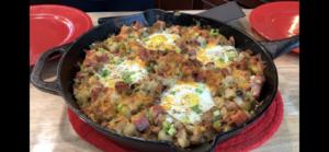 Loaded Breakfast skillet Recipe