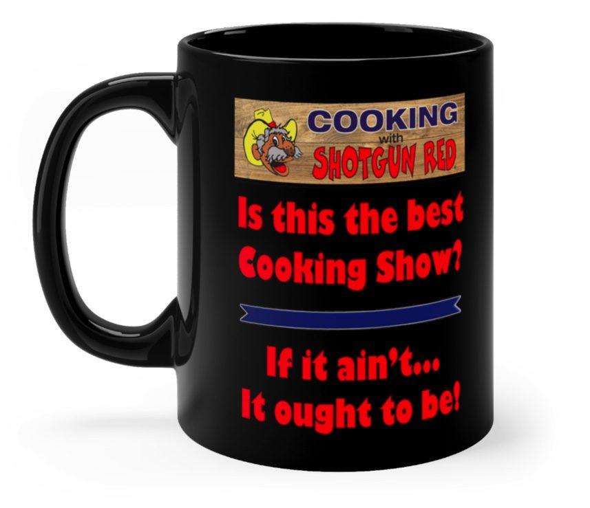 Black Coffee Mug 11 oz. 2 sided