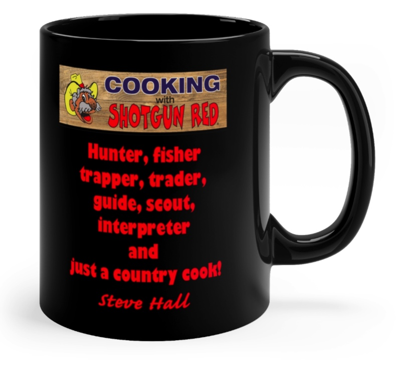 Black Coffee Mug 11 oz. 2 sided