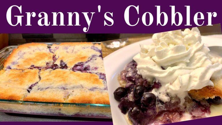 Grannys Cobbler Recipe