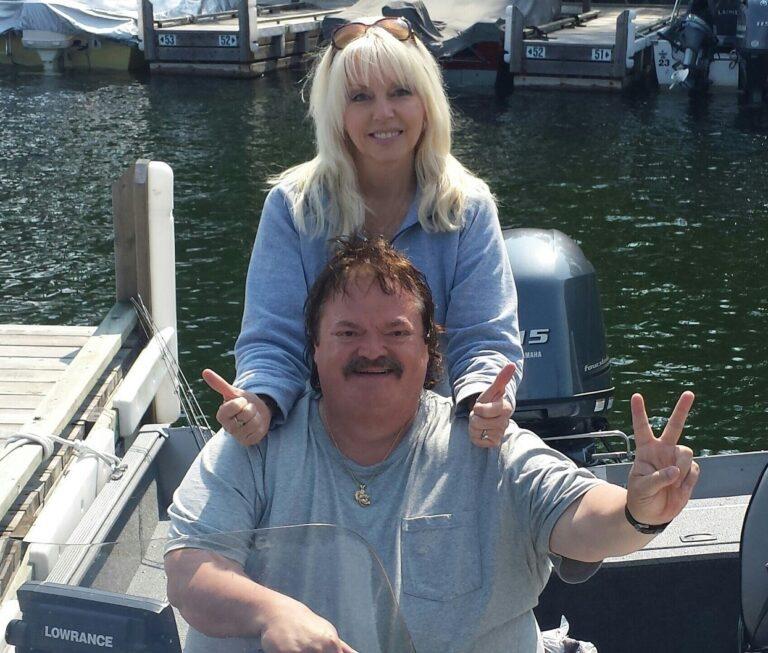 Steve Hall and Miss Sheila
