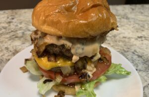 Double Cheese Burger Recipe In and Out